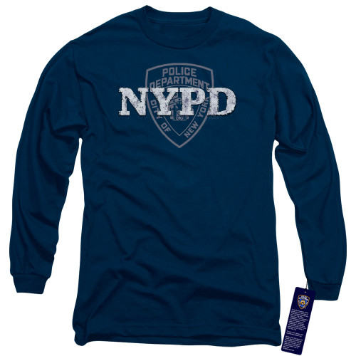 Image for New York City Long Sleeve Shirt - NYPD