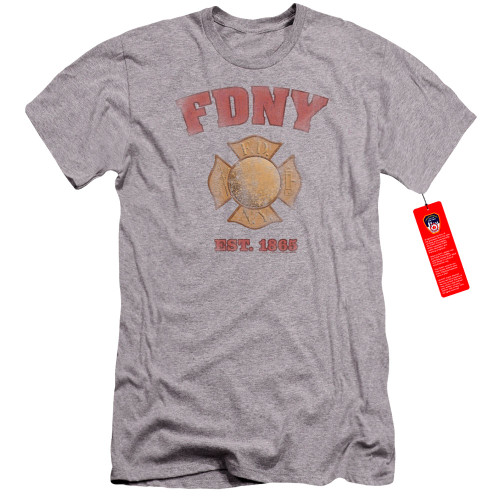 Image for New York City Premium Canvas Premium Shirt - FDNY Vintage Badge