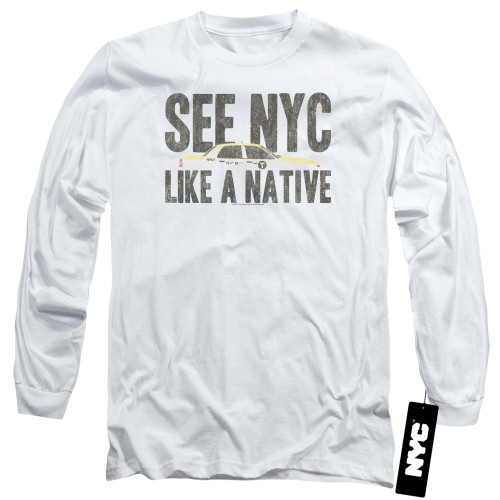 Image for New York City Long Sleeve Shirt - Like a Native