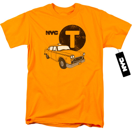 Image for New York City T-Shirt - Yellow Cab