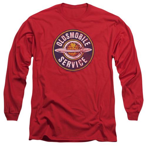 Image for Oldsmobile Long Sleeve Shirt - Vintage Service