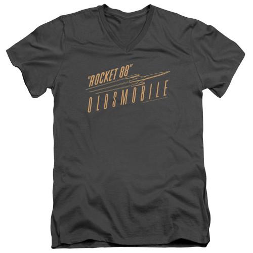 Image for Oldsmobile V Neck T-Shirt - Retro '88
