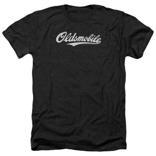 Image for Oldsmobile Heather T-Shirt - Cursive Logo