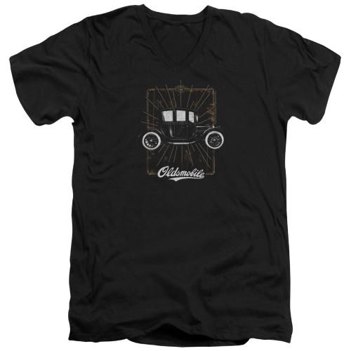 Image for Oldsmobile V Neck T-Shirt - 1912 Defender
