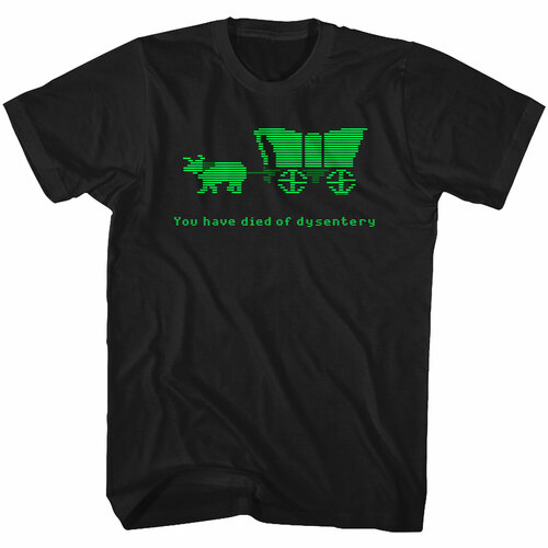 Image for The Oregon Trail - You Have Died of Dysentery T-Shirt