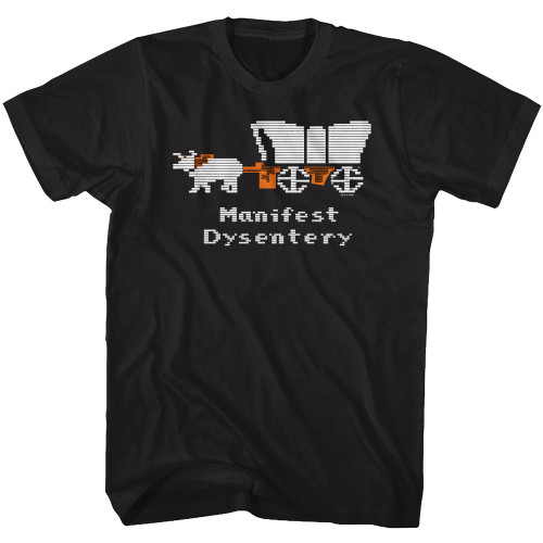 Image from The Oregon Trail Manifest Dysentery T-Shirt
