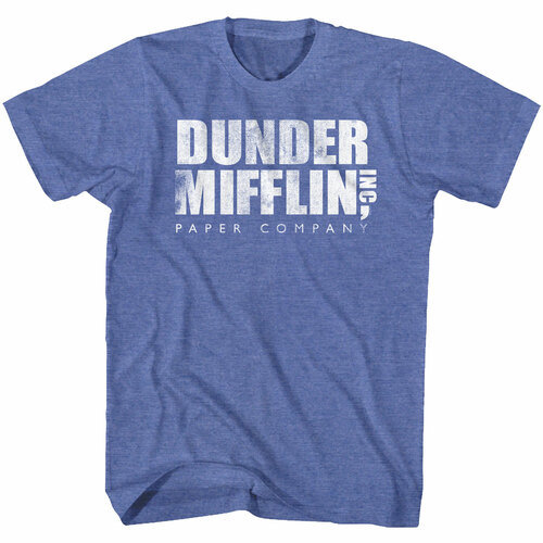 Image for The Office T-Shirt - Dunder Mifflin Vintage