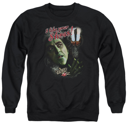 Image for The Wizard of Oz Crewneck - I Like Your Shoes