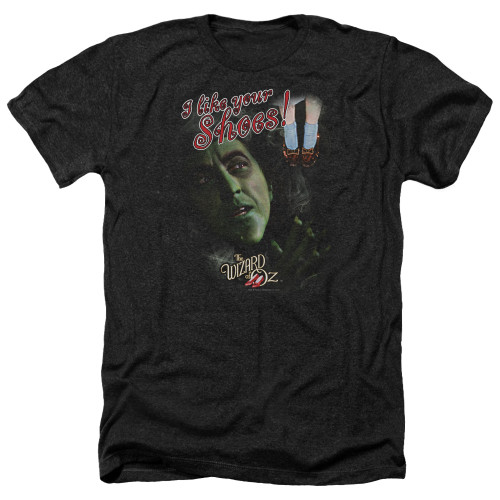 Image for The Wizard of Oz Heather T-Shirt - I Like Your Shoes