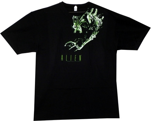 Image for Green Alien T-Shirt