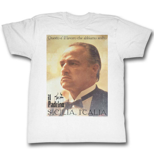 Image for Godfather T-Shirt - Poster