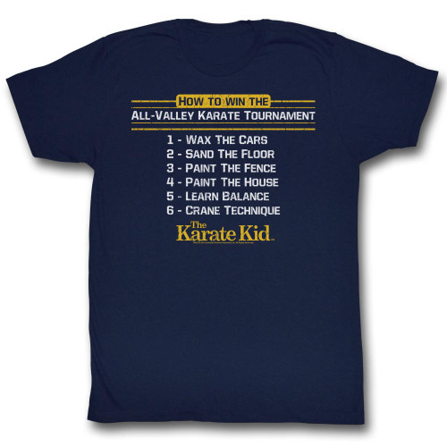 Image for Karate Kid T Shirt - How To