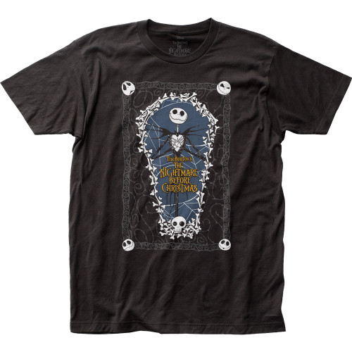 Image for The Nightmare Before Christmas Coffin T-Shirt