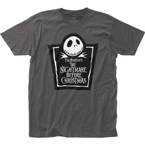 Image for The Nightmare Before Christmas Tombstone T-Shirt