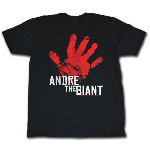 Image for Andre the Giant T-Shirt - Red Hand