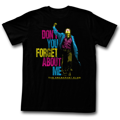 Image for The Breakfast Club T-Shirt - Don't You Forget About Me