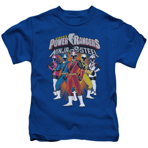 Image for Mighty Morphin Power Rangers Kids T-Shirt - Team Lineup