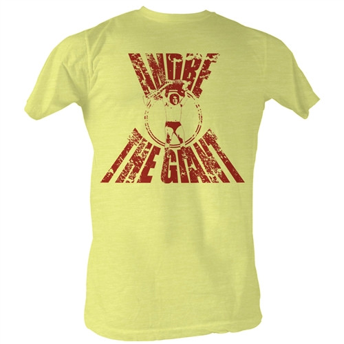 Image Closeup for Andre the Giant T-Shirt - Real G