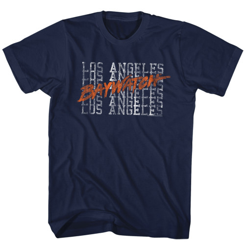 Image for Baywatch T-Shirt - L.A. Beaches