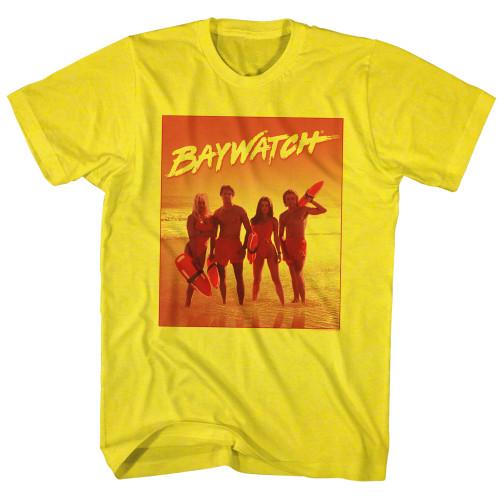 Image for Baywatch T-Shirt - Orange