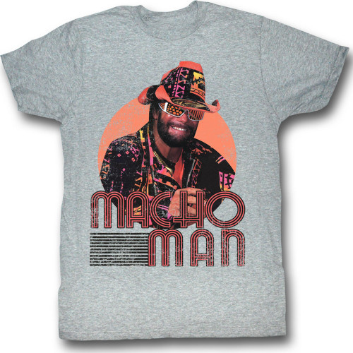 Image for Macho Man T-Shirt - Mackin and Smackin