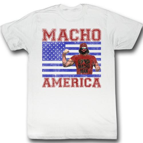 Image for Macho Man T-Shirt - Macho America