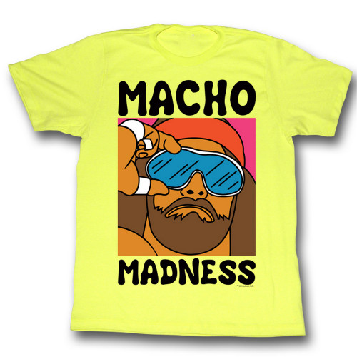 Image for Macho Man T-Shirt - Wild Life
