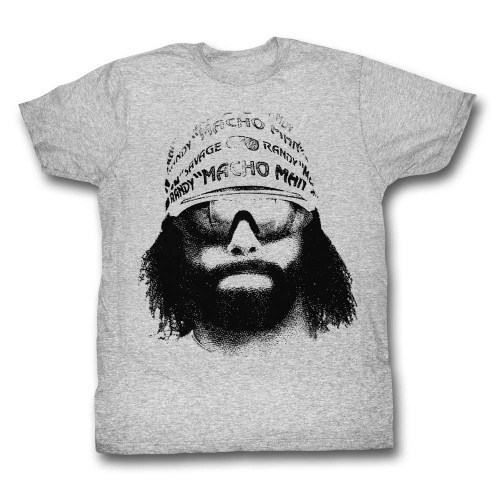 Image for Macho Man T-Shirt - Face