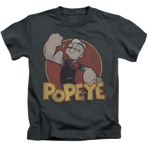 Image for Popeye the Sailor Kids T-Shirt - Retro Ring