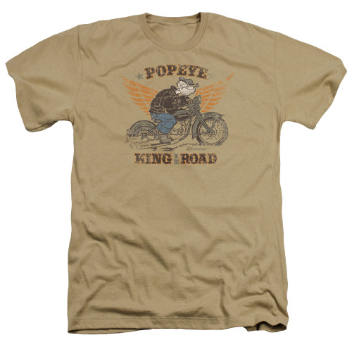 Image for Popeye the Sailor Heather T-Shirt - King of the Road