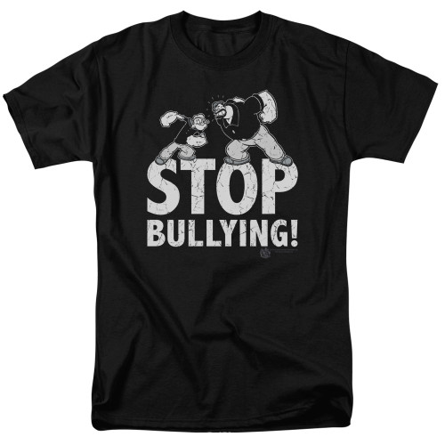 Image for Popeye the Sailor T-Shirt - Stopy Bullying