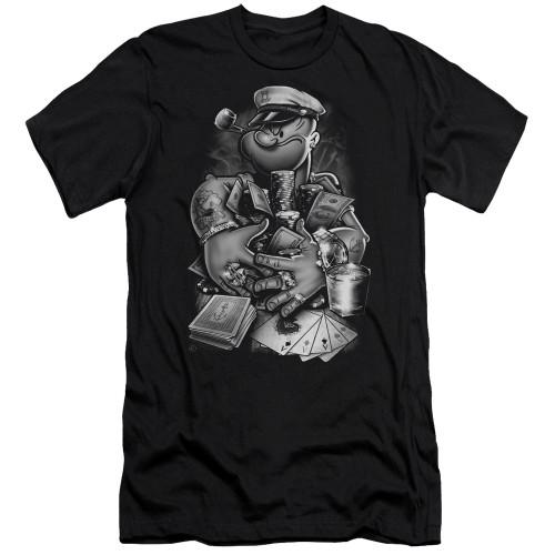 Image for Popeye the Sailor Premium Canvas Premium Shirt - Mine All Mine