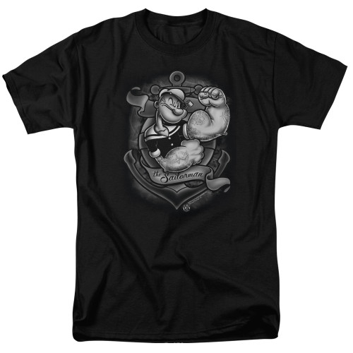 Image for Popeye the Sailor T-Shirt - Anchors Away