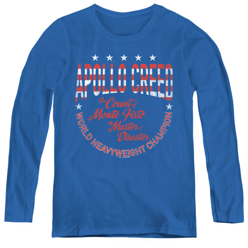 Image for Rocky Women's Long Sleeve T-Shirt - Count of Monte Fisto