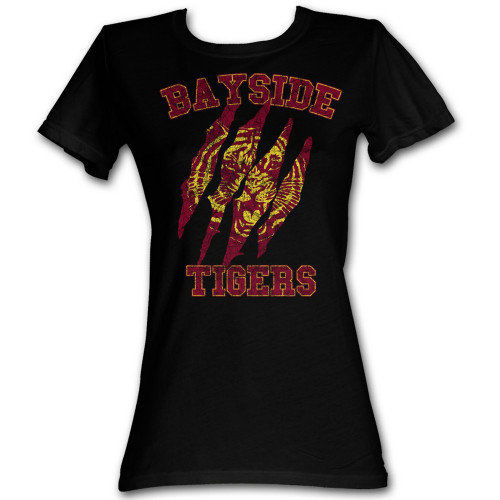 Image for Saved by the Bell Girls T-Shirt - Bayside Claws