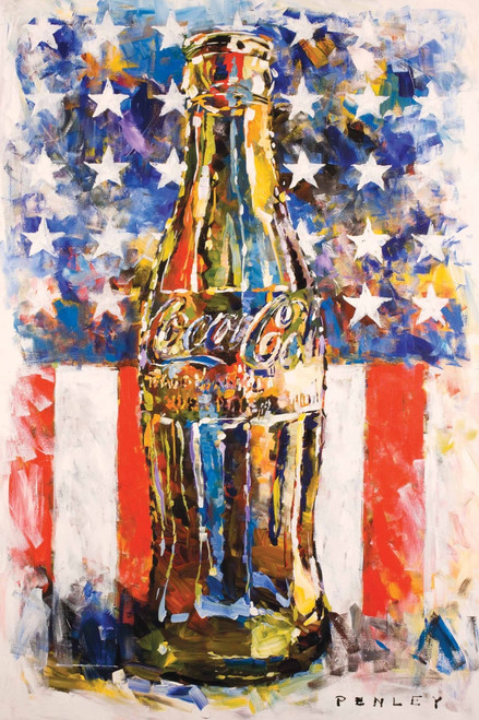 Image for Coca-Cola Art Poster