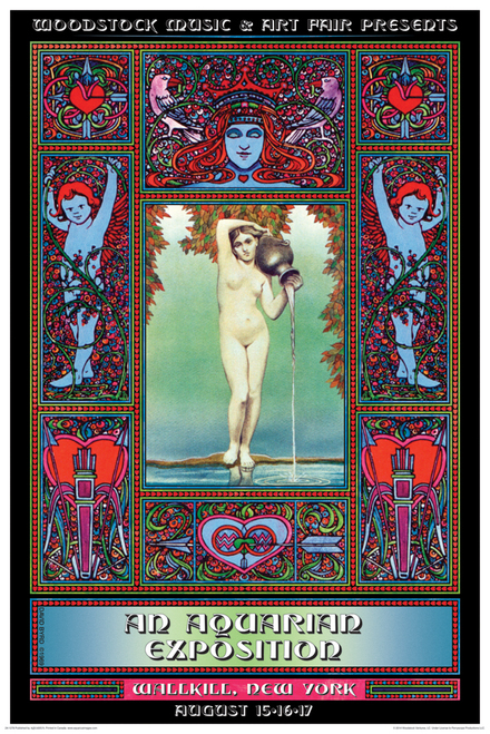 Woodstock Original Poster