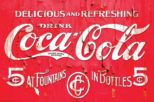 Image for Coca-Cola Logo Poster