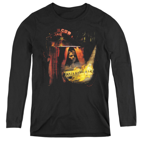 Image for MirrorMask Women's Long Sleeve T-Shirt - Big Top Poster