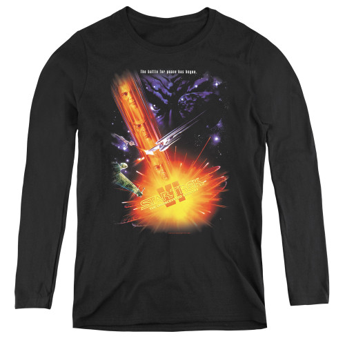 Image for Star Trek Movie Women's Long Sleeve T-Shirt - VI the Undiscovered Country