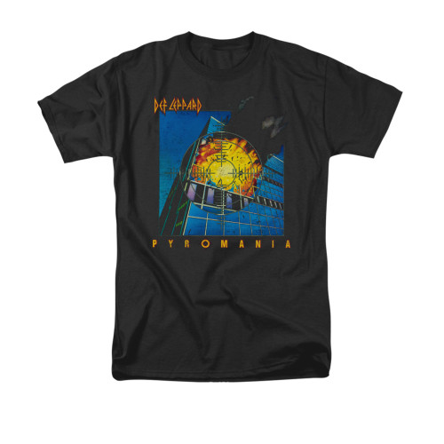 Image for Def Leppard T-Shirt - Pyromania