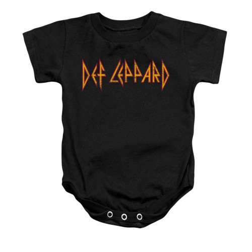 Image for Def Leppard Baby Creeper - Horizontal Logo