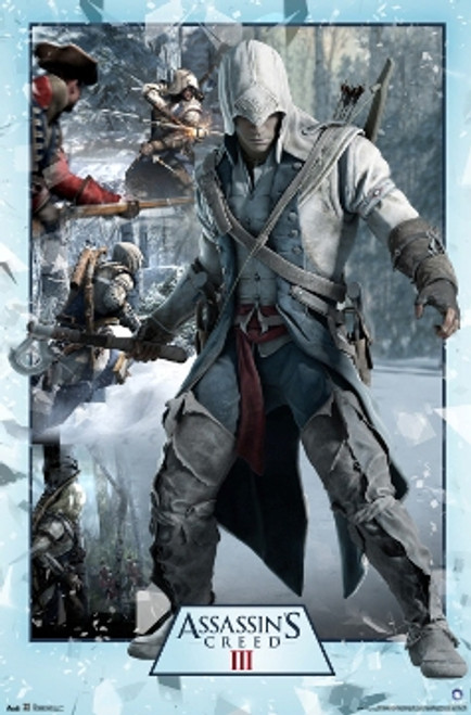 Assassins Creed III Poster - Collage