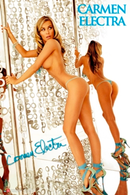 Image for Carmen Electra Poster - Stripper Pole
