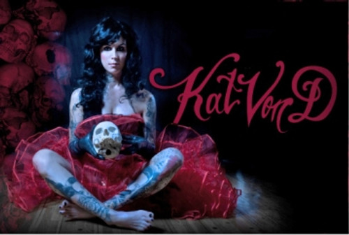 Image for Kat Von D Poster - Pretty Coat