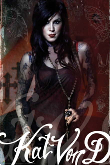 Image for Kat Von D Poster - Tattooist