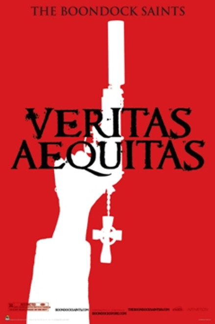 Image for Boondock Saints Poster - Veritas Red