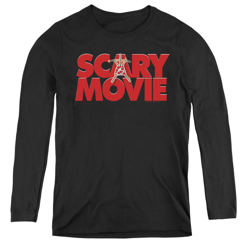 Image for Scary Movie Women's Long Sleeve T-Shirt - Logo
