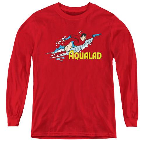 Image for Aqualad Youth Long Sleeve T-Shirt