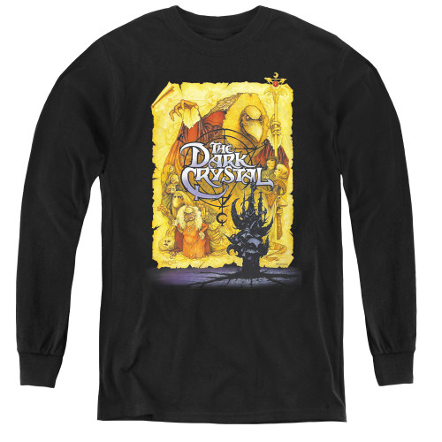 Image for The Dark Crystal Youth Long Sleeve T-Shirt - Poster